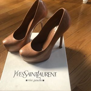 Yves Saint Laurent YSL Tribtoo 105 Pumps